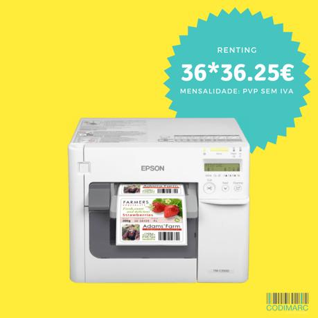 Epson ColorWorks C3500 c/ logo 1