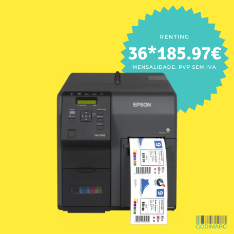 Epson ColorWorks C7500 c/ logo 1